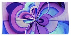 Beach Towel featuring the photograph Abstract Circle Squared by Chris Anderson