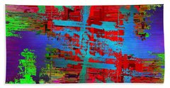Abstract Cubed 47 Beach Towel