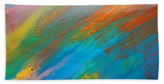 Abstract Dreams Come True Beach Towel