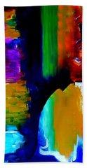 Abstract Du Colour Beach Towel by Lisa Kaiser