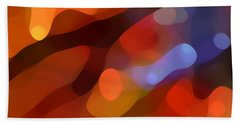 Abstract Fall Light Beach Towel