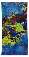 Abstract Fish  Beach Towel