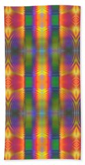Abstract For Today Beach Towel by Lyle Hatch
