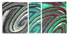 Abstract Fusion 180 Beach Towel
