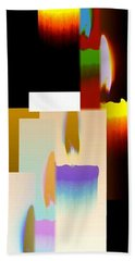 Abstract Fusion 185 Beach Towel