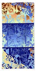 Abstract Fusion 194 Beach Towel