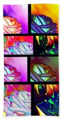 Abstract Fusion 214 Beach Towel