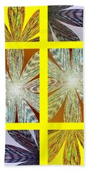 Abstract Fusion 216 Beach Towel