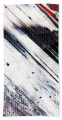 Abstract Original Artwork One Hundred Phoenixes Untitled Number Eight Beach Sheet