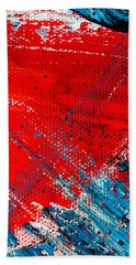 Abstract Original Artwork One Hundred Phoenixes Untitled Number Five Beach Sheet