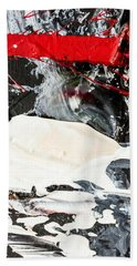Abstract Original Painting Number Three Beach Towel