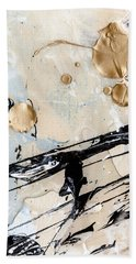 Abstract Original Painting Untitled Twelve Beach Towel