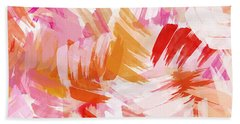 Abstract Paint Pattern Beach Towel