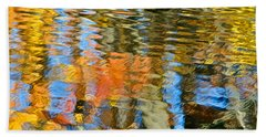 Abstract Reflection Beach Towel