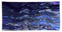 Abstract Reflections - Digital Art #2 Beach Towel