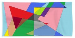 Abstract Beach Towel by Ron Davidson