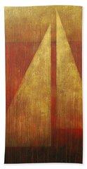 Abstract Sail Beach Towel