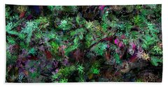 Abstraction 121514 Beach Towel by David Lane