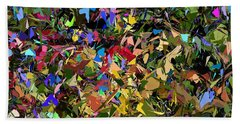 Abstraction 2 0211315 Beach Towel by David Lane