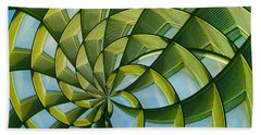 Abstraction A La M. C. Escher Beach Towel by Gary Holmes