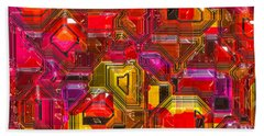 Abstractions... Beach Towel by Tim Fillingim