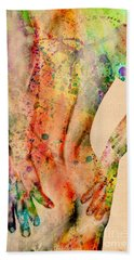 Abstractiv Body - 4 Beach Towel