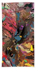Beach Sheet featuring the digital art Abyss 2 by David Lane