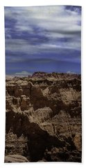 Across The Badlands Beach Towel