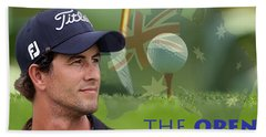 Adam Scott Beach Towel