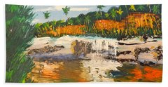 Adele Gorge At Lawn Hill National Park Beach Towel