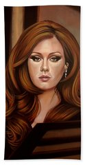 Adele Beach Towel by Paul Meijering