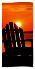 Adirondack Days End Beach Towel