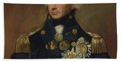 Admiral Horatio Nelson Beach Towel