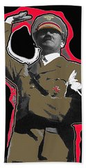 Adolf Hitler Saluting 2 Circa 1933-2009 Beach Sheet by David Lee Guss