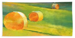 Advance Mills Hall Bales Beach Towel