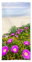 Aegean Sea Coast In Greece Beach Towel