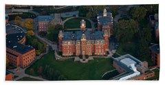 Aerial Of Woodburn Hall Beach Towel by Dan Friend