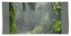 African Rain Beach Towel
