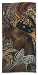 African Spirits II Beach Towel