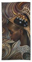 African Spirits II Beach Sheet