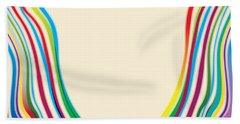 After Morris Louis 2 Beach Towel