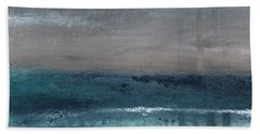 Abstract Landscape Paintings Beach Towels