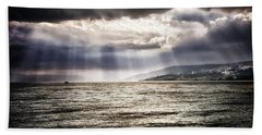After The Storm Sea Of Galilee Israel Beach Towel