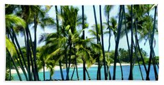 Afternoon At Kakaha Kai Beach Towel