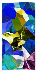 Beach Towel featuring the digital art Afternoon Doodle 020215 by David Lane