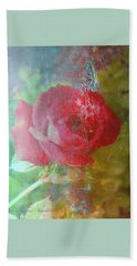 Ageless - Rose - Manipulated Images Beach Towel