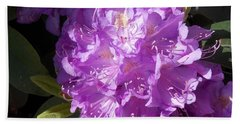 Ah Rhododendron Beach Towel