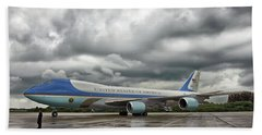 Air Force One Beach Sheet by Mountain Dreams