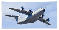 Airbus A400m Beach Towel