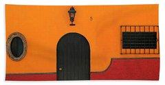 Ajijic Door No.4 Beach Towel